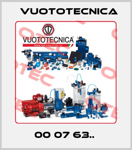 Vuototecnica-00 07 63..  price