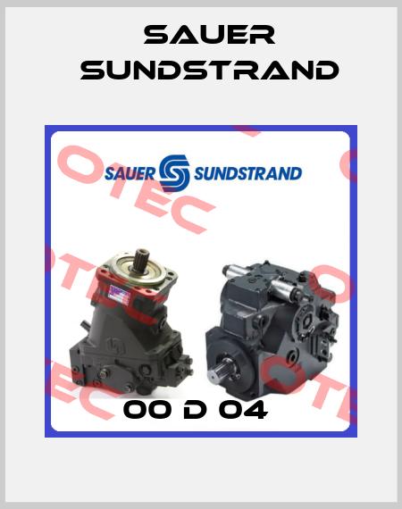 Sauer Sundstrand-00 D 04  price
