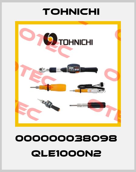 Tohnichi-000000038098   QLE1000N2  price