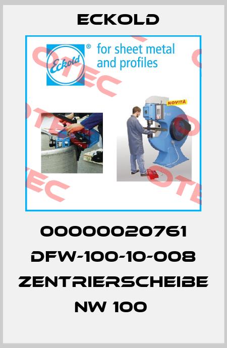 Eckold-00000020761 DFW-100-10-008 ZENTRIERSCHEIBE NW 100  price