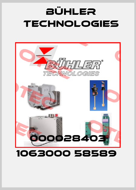 Bühler Technologies-000028403 1063000 58589  price