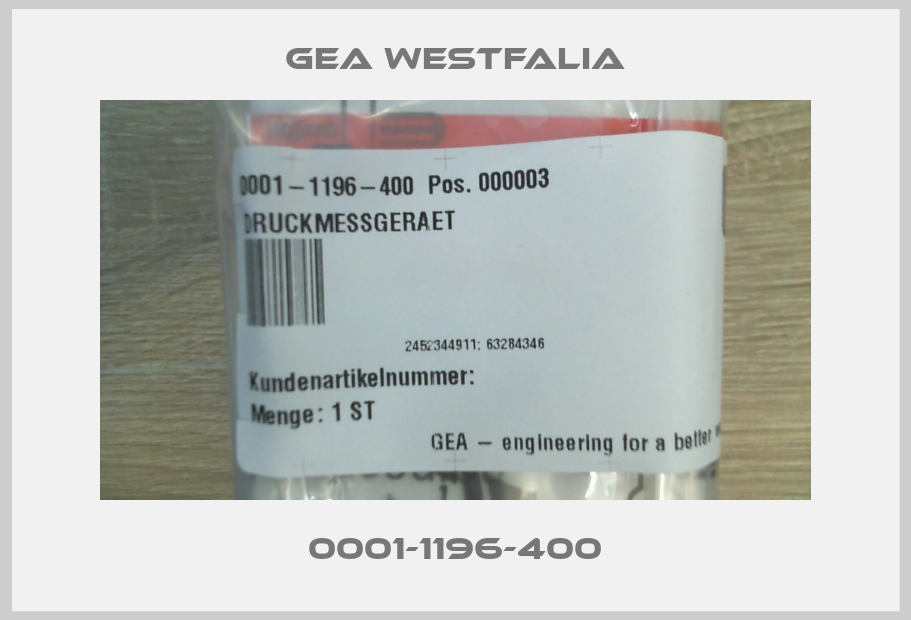 Gea Westfalia-0001-1196-400  price