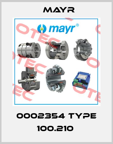 Mayr-0002354 TYPE 100.210  price