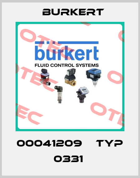 Burkert-00041209    TYP 0331  price