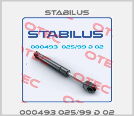 Stabilus-000493 025/99 D 02 price