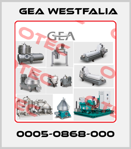 Gea Westfalia-0005-0868-000 price