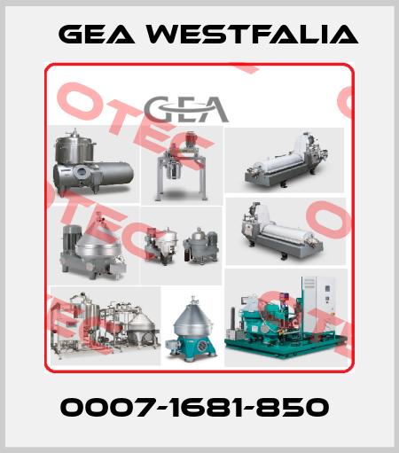 Gea Westfalia-0007-1681-850  price