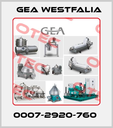 Gea Westfalia-0007-2920-760  price