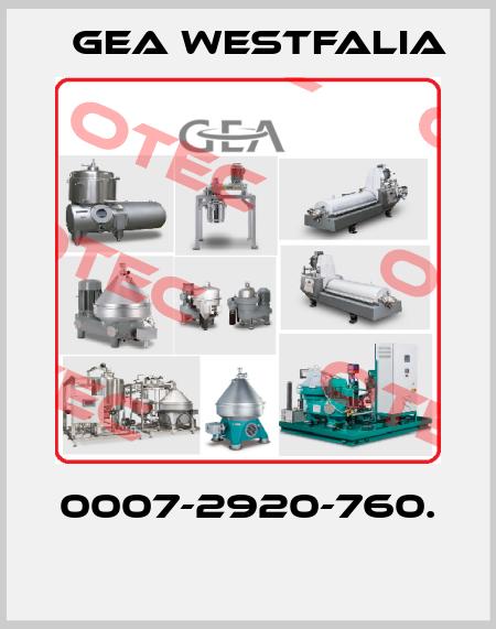 Gea Westfalia-0007-2920-760.  price