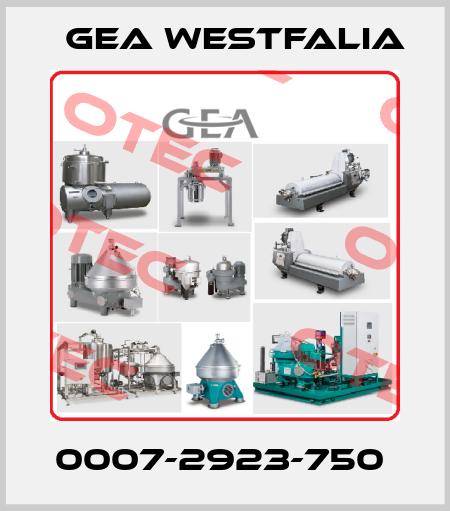 Gea Westfalia-0007-2923-750  price