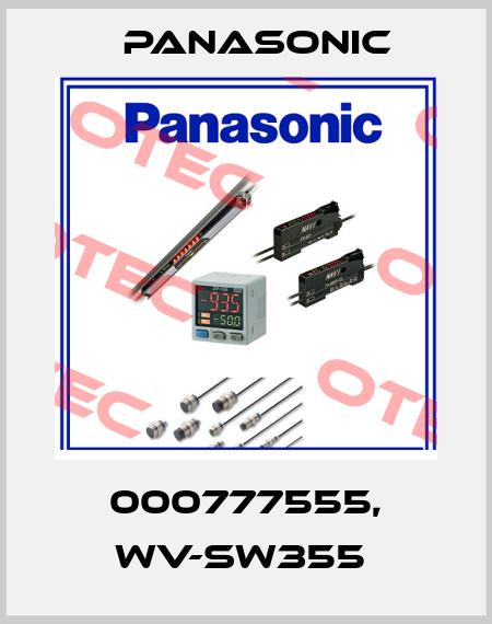 Panasonic-000777555, WV-SW355  price