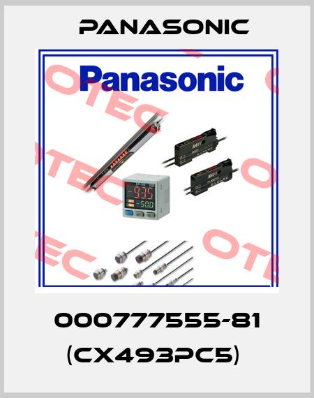 Panasonic-000777555-81 (CX493PC5)  price