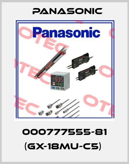 Panasonic-000777555-81 (GX-18MU-C5)  price