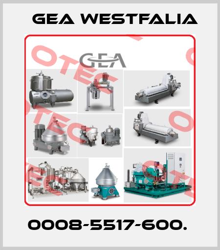 Gea Westfalia-0008-5517-600.  price