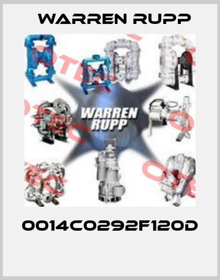 Warren Rupp-0014C0292F120D  price