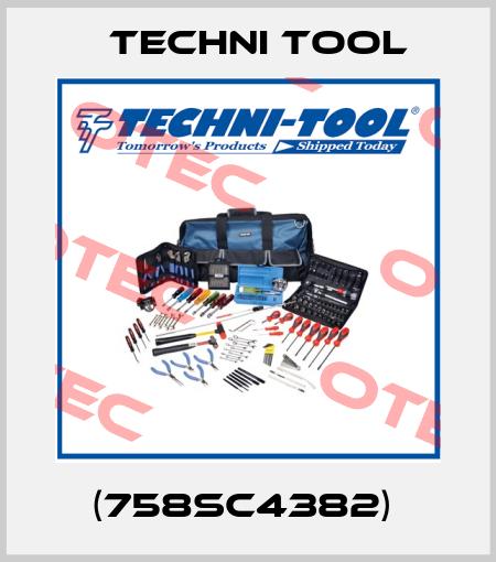 Techni Tool-(758SC4382)  price