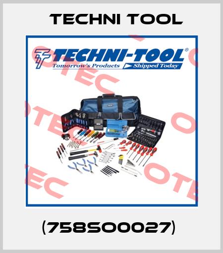 Techni Tool-(758SO0027)  price
