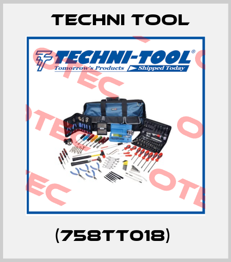 Techni Tool-(758TT018)  price