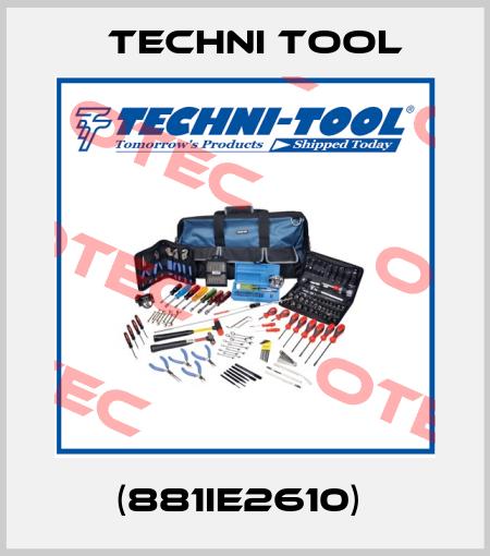 Techni Tool-(881IE2610)  price