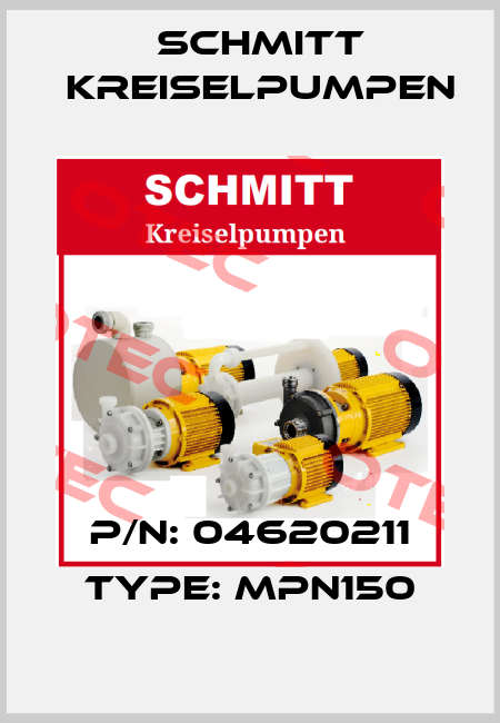 Schmitt Kreiselpumpen-.04620211 TYP MPN 150/PP  price