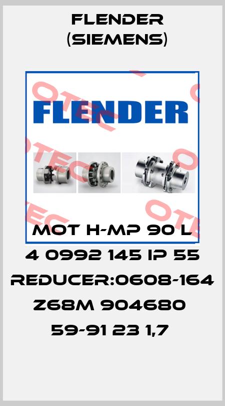 Flender (Siemens)-MOT H-MP 90 L 4 0992 145 IP 55 Reducer:0608-164 Z68M 904680  59-91 23 1,7  price