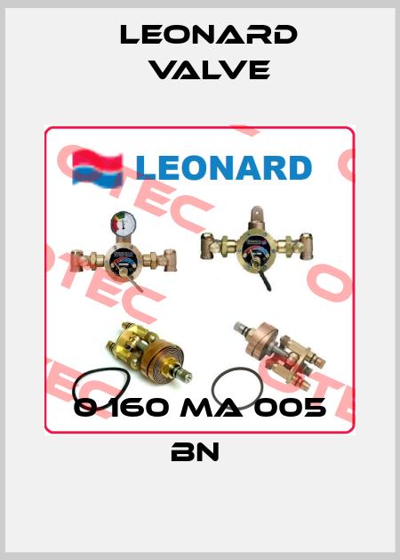 LEONARD VALVE-0 160 MA 005 BN  price