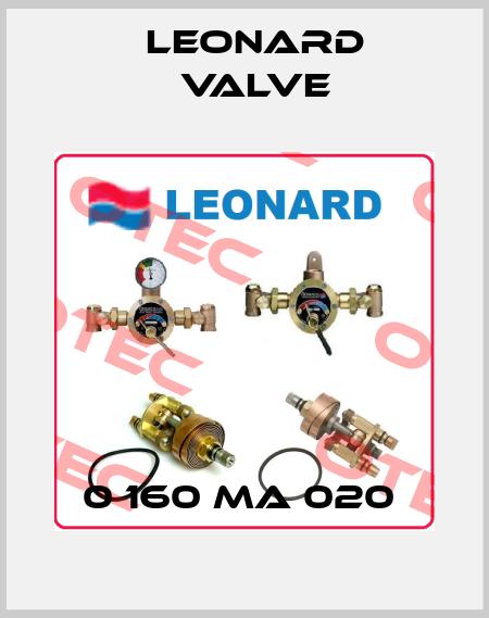 LEONARD VALVE-0 160 MA 020  price