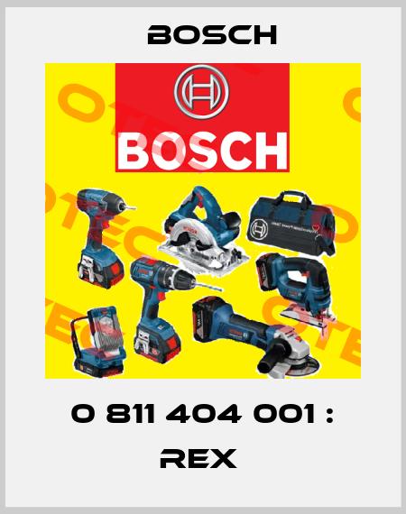 Bosch-0 811 404 001 : REX  price