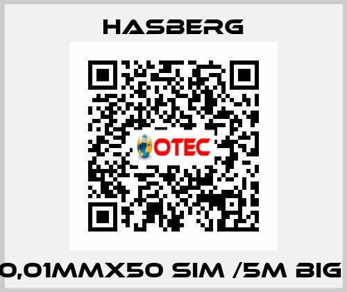 Hasberg-0,01MMX50 SIM /5M BIG  price