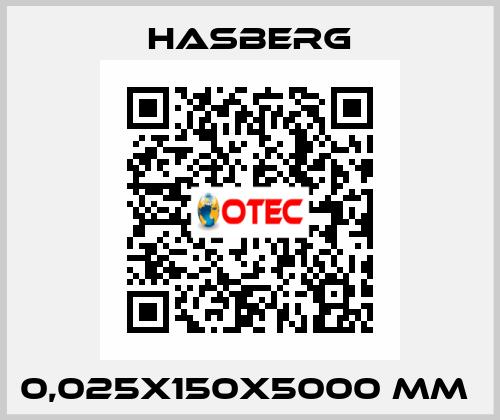 Hasberg-0,025X150X5000 MM  price