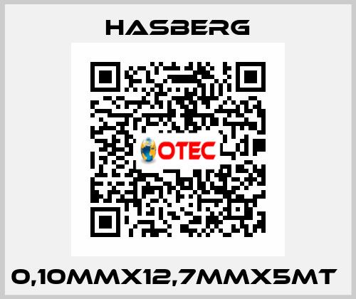 Hasberg-0,10MMX12,7MMX5MT  price