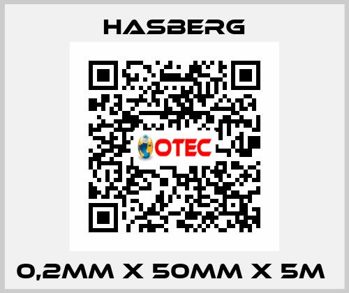 Hasberg-0,2MM X 50MM X 5M  price