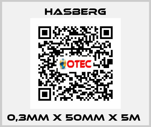 Hasberg-0,3MM X 50MM X 5M  price