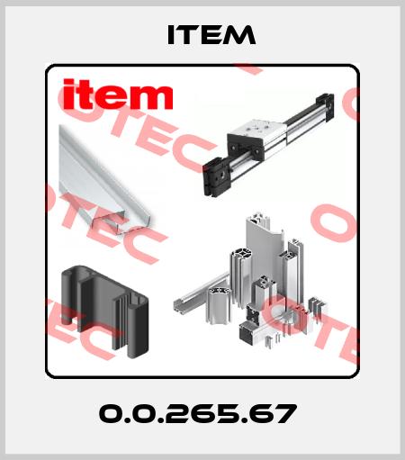 Item-0.0.265.67  price
