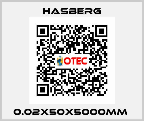 Hasberg-0.02X50X5000MM  price