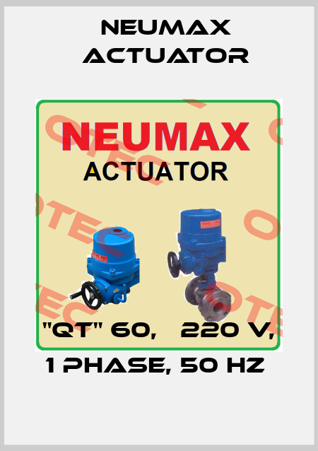 "Neumax Actuator-""QT"" 60,   220 V, 1 PHASE, 50 HZ  price"