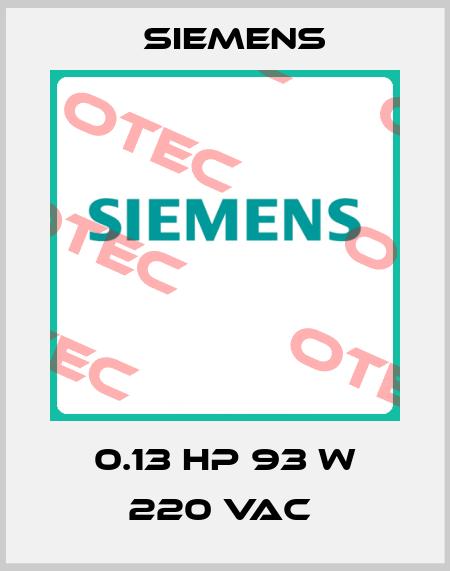 Siemens-0.13 HP 93 W 220 VAC  price