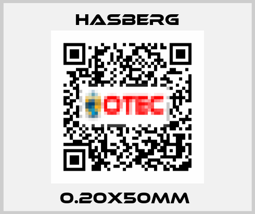 Hasberg-0.20X50MM  price