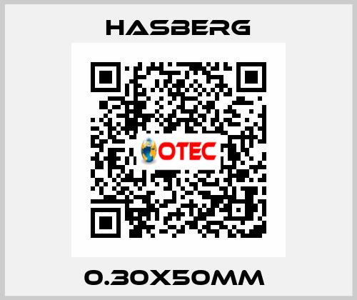 Hasberg-0.30X50MM  price