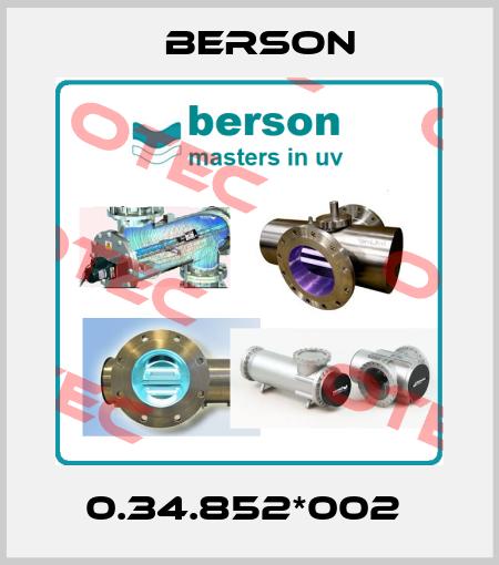 Berson-0.34.852*002  price